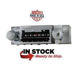 1967 Chevelle Dash Radio Am / Fm Stereo Oe Style With Bluetooth 612201bt