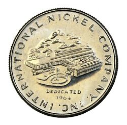 1964 Private Pattern Quarter International Nickel Company By Gilroy Roberts