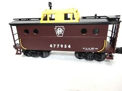 Mth Railking Pennsylvania N5c Lighted Caboose For O Gauge Op. Ln-no Box Herelook