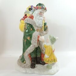 Letter To Santa Cookie Jar By Waterford Holiday Heirlooms