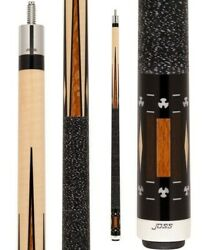 JOSS POOL CUE  JOS 12  with 2 13mm shaft