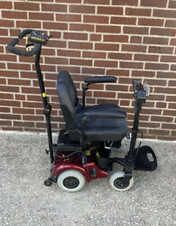 Attendant Controlled Power Wheelchair Rascal We Go 250 W New Batteries Holds 250
