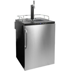 Summit Sbc635mbisstb 24w 6 Cu. Ft. Single Tap Built-in Kegerator - Stainless