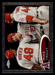 2012 Topps Chrome 144 Mike Trout Near Mint+ Angels