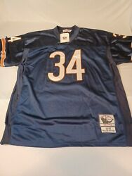 New 1975 Authentic Walter Payton Mitchell Ness Chicago Bears Jersey. Size 54