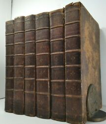 1777henryand039s Commentary Of The Biblecomplete 6 Vol Setmassive Leather Books