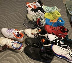 Plus Size Sneaker Lot Size 13-15 Andmdash- Will Sell Separately