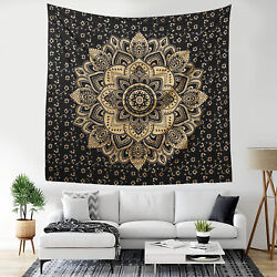 Bohemian Mandala Tapestry Wall Hanging Hippie Psychedelic Art Decor for Bedroom