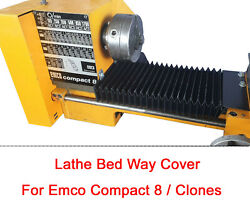 Emco Compact 8 / Clone Diy Bed Chip / Swarf Cover Shield Protector