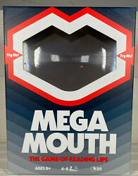 Mega Mouth The Game of Reading Lips 4 8 Players Brand New Party Board Game