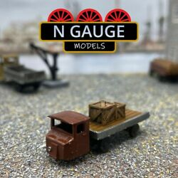 N Scale Gauge Mechanical Horse Truck 1148 Scammell Trailer Lorry 1160