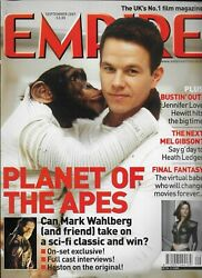 Empire Magazine Issue 147 - September 2001 Planet Of The Apes Mark Wahlberg [1]
