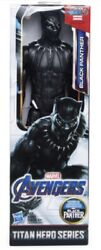 Marvel Titan Hero Series BLACK PANTHER 12quot; Action Figure by Hasbro