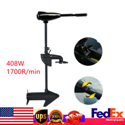 12v Thrust Electric Trolling Motor Outboard Engine Fishing Boat Motor 40lbs