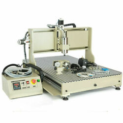 1.5kw Usb 4 Axis 6090 Cnc Router Vfd 3d Metal Milling Drilling Engraving Machine