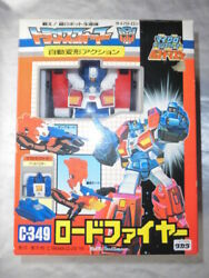 Old Takara Fight Super Robot Life Trans Formers Cybertron C-349 Auto-transform
