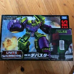 Tommy Takara Trans Formers Unite Warriors Uw04 Debuster