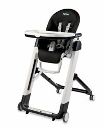 Brand New Peg Perego Siesta High Chair In Licorice