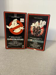 Ghostbusters 12 Vhsrare Columbia Pictures 1989ivan Reitman Film