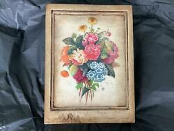 Sid Dickens Memory Block Bouquet Ltd Ed Rle19 05 Signed Retired Tile New