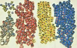 Star Wars Destiny Game 317 Dice Cubes Parts Only No Cards Colorful Lot