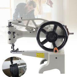 11.8 Inch Head Manual Leather Sewing Machine Shoe Repair Boot Patcher 500spm