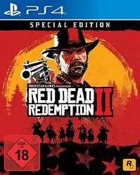 Ps4 / Sony Playstation 4 Game - Red Dead Redemption 2 Special Edition Boxed