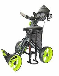 Caddytek Golf Push Cart Removable Seat - Lightweight Compact Amp Easy To Use Out