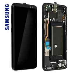 Ecran Lcd / Vitre Tactile / Chassis Samsung S8 G950f - Reconditionnandeacute Grade A