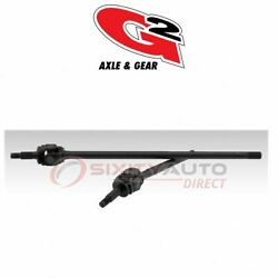 G2 Axle And Gear Axle Shaft For 1982-1985 Jeep Scrambler - Driveline Axles Tm