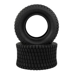Set Of 2 24x12.00-12 Lawn Mower Tractor Turf Tires 4 Ply 24x12-12 Tubeless