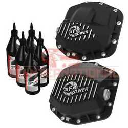 Afe Power Differential Cover Compatible With Jeep Wrangler Jl 2020-2021
