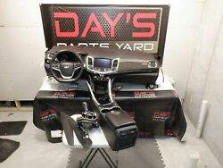 2014 Chevy Ss Sedan Complete Dash And Complete Center Console