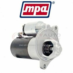 Mpa Starter Motor For 1990-1991 Ford Ltd Crown Victoria - Electrical Uw