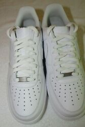 Nike Air Force 1 '07 - Men's Size 10 Us - White/white - New In Box - Clean Look
