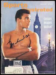 Muhammad Ali Cassius Clay Signed 1963 Sports Illustrated 1st Cover Jsa 160646