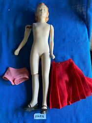 Vintage Mannequin Miniquin Doll Teen Fashion Counter Store Display 1940s 24