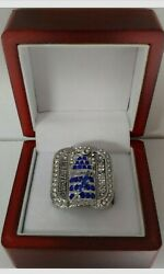 Martin St Louis - 2004 Tampa Bay Lightning Stanley Cup Ring W Wooden Display Box