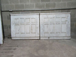 2 Pieces Antique Oak Paneling Wainscoting 95 Inches By 42 Tall Salvage