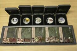 2011 Perth Mint Famous Battles In Australian History Set Of 5 1oz Silver Coins