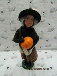 Byers Choice 2019 Halloween Witch With Pumpkin🎃🎃🎃🎃🎃new