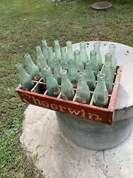 Vintage Cheerwine Crate With 8oz. Bottles Local Pick Up Only