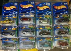 Hot Wheels 2002 Treasure Hunt Set Collectible Investment All 12 Cars -nice