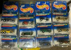Hot Wheels 2000 Treasure Hunt Set Collectible Investment All 13 Cars -nice