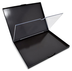 The Adept Palette In Singularity Black - Double Sided Magnetic Empty Palette Wit