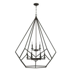 Sunset Lighting F3429 Lyric 9 Light 35-1/2w Taper Candle Cage - Provincial