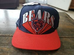 Vintage Chicago Bears Logo 7 Cap Hat Brand New With Tags