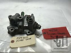 Used John Deere Tractor Filter Relief Valve Housing R49200 R49199 Ar52630 2520