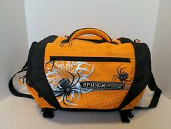 Spiderwire Tackle Bag Fishing And Hunting With 4 Gear Boxes Many Pockets