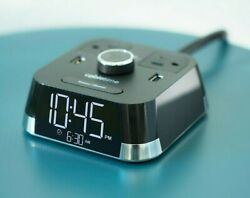 Cubietime Brandstand Bpect Hotel Alarm Clock Phone Charger Usb Multi Outlet Bnib